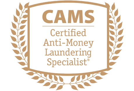 Milto Charalambous certified Anti-Money Laundering Specialist