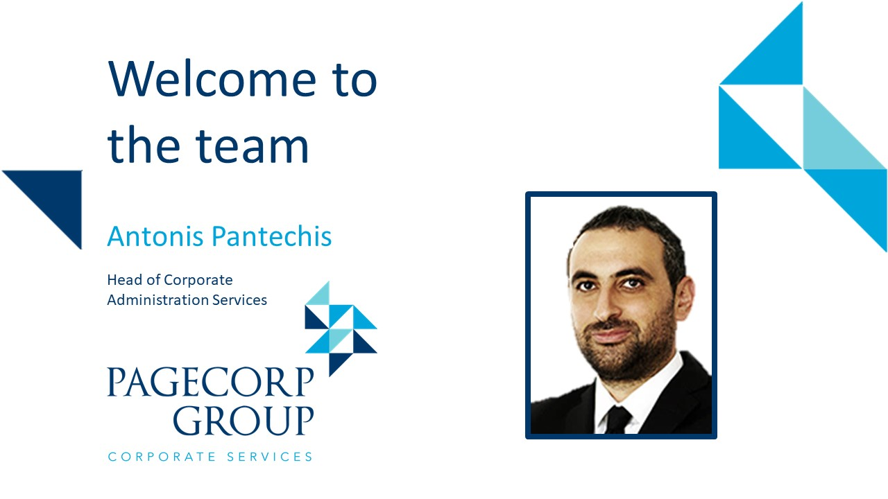 A warm welcome to Antonis Pantechis